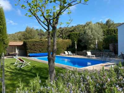 Image 2   4 bedroom villa for sale with 0.5 hectares of land, La Turbie, Eze Cap d'Ail, French Riviera 231359