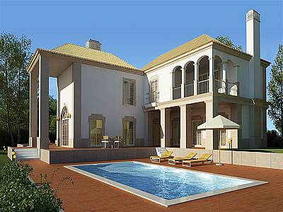 Image 1 | 4 bedroom villa for sale with 3,330m2 of land, Goldra, Central Algarve, Algarve 128776