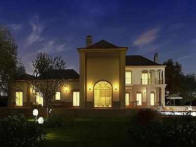 Image 2 | 4 bedroom villa for sale with 3,330m2 of land, Goldra, Central Algarve, Algarve 128776