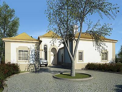 Image 3 | 4 bedroom villa for sale with 3,330m2 of land, Goldra, Central Algarve, Algarve 128776