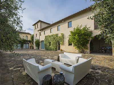 Image 1   6 bedroom villa for sale with 110,000m2 of land, Florence, Chianti 200169