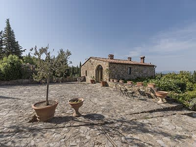 Image 2   Enchanting Estate in Tuscany for Sale with Guest House suitable for B&B with income potential 202790