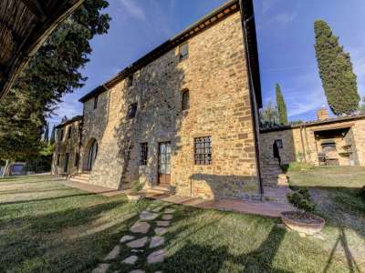 Image 3   12 bedroom farmhouse for sale with 5,600m2 of land, Florence, Chianti 207971