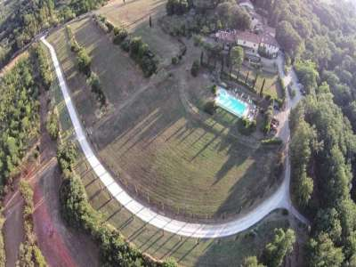 Image 14   Superb Castle for Sale close to Florence with Tourist and Wine Business & 47 Hectares of Land  208304