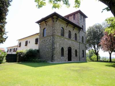 Image 2   Superb Castle for Sale close to Florence with Tourist and Wine Business & 47 Hectares of Land  208304