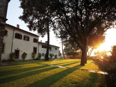 Image 8   Superb Castle for Sale close to Florence with Tourist and Wine Business & 47 Hectares of Land  208304