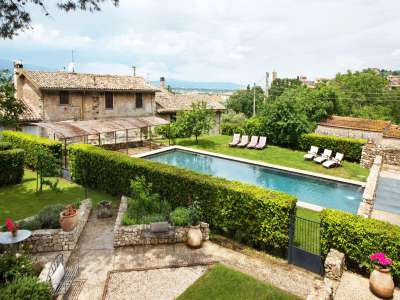 Image 2 | Superb Umbrian Villa with 10 bedrooms and Pool  for Auction in Spoleto area. 208592