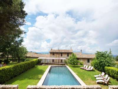 Image 7 | Superb Umbrian Villa with 10 bedrooms and Pool  for Auction in Spoleto area. 208592