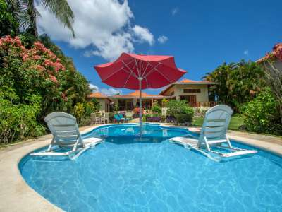 Beautiful Villa at Sea Horse Ranch, Dominican Republic for Sale with Pool and Guest/Staff Cottage