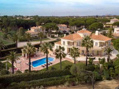 Image 4 | Auction of a Luxury 9 Bedroom Estate with Golf Course Views in Quinta do Lago, Portugal 215881