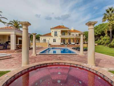 Image 5 | Auction of a Luxury 9 Bedroom Estate with Golf Course Views in Quinta do Lago, Portugal 215881