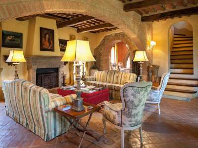 Image 5   5 bedroom farmhouse for sale with 30,000m2 of land, Chiusi, Siena, Chianti 216712