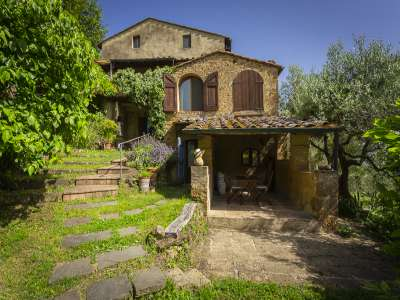 Image 1   4 bedroom villa for sale with 92,900m2 of land, Volterra, Pisa, Tuscany 216817