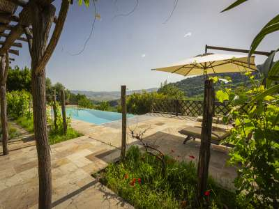 Image 9   4 bedroom villa for sale with 92,900m2 of land, Volterra, Pisa, Tuscany 216817