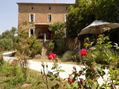 Two charming stone houses in the Drome area for sale with 14 bedrooms in total