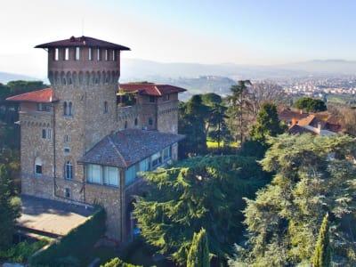 4 bedroom penthouse for sale, Bellosguardo, Florence, Chianti Wine Region
