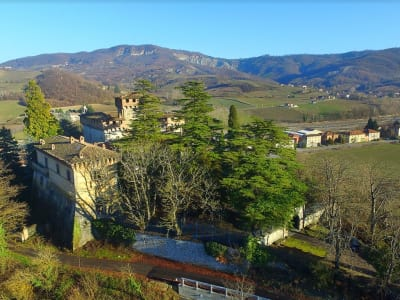 Marvellous estate in Italy for sale with chapel, mill and many outbuildings in glorious parkland