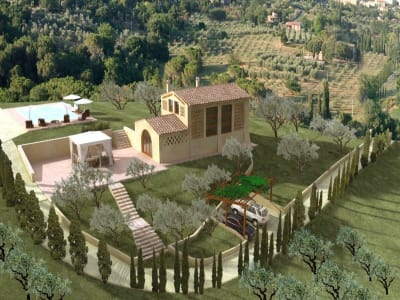 2 bedroom farmhouse for sale, San Gimignano, Siena, Chianti