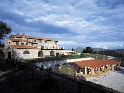 Delightful Agriturismo Farmhouse Estate for sale in Tuscany with Pool