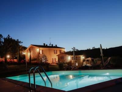 8 bedroom farmhouse for sale, Chianni, Pisa, Tuscany