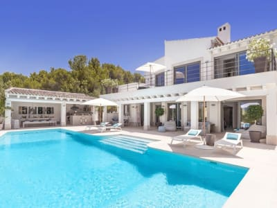 6 bedroom villa for sale, Santa Ponsa, South Western Mallorca, Mallorca