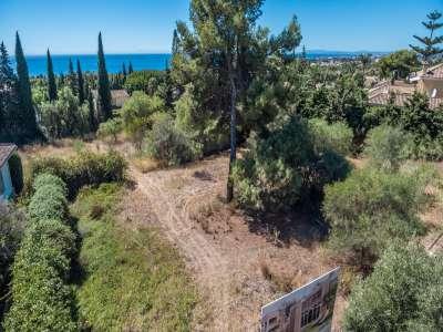 Plot of land for sale, Nagueles, Marbella, Malaga Costa del Sol, Marbella Golden Mile