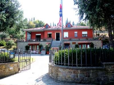 Magnificent 9 Bedroom Private Villa for Sale in Cortona with Tourist Business Potential