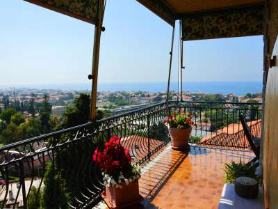 3 bedroom penthouse for sale, Bordighera, Imperia, Liguria