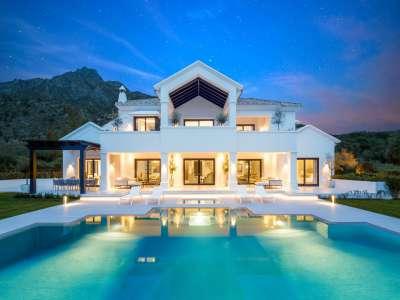 7 bedroom villa for sale, Marbella Hill Club, Marbella, Malaga Costa del Sol, Marbella Golden Mile