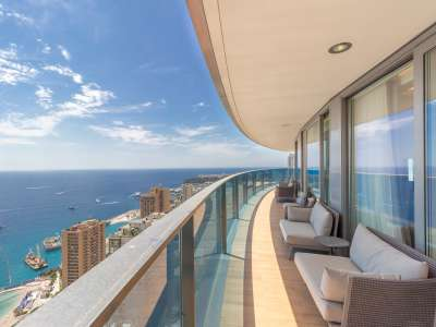 4 bedroom apartment for sale, Tour Odeon, Avenue de L'Annonciade, La Rousse, French Riviera