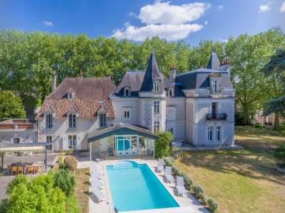 10 bedroom French chateau for sale, Bouresse, Vienne, Poitou-Charentes