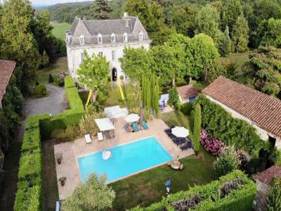 10 bedroom French chateau for sale, Aspet, Haute-Garonne, Gascony