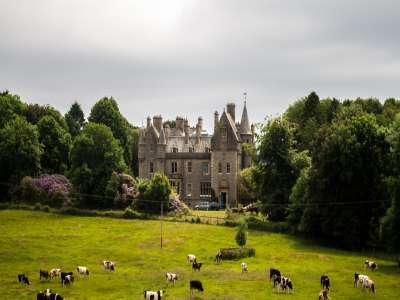 Impressive Scottish Castle for Sale on the Solway Firth with 17 Bedrooms.