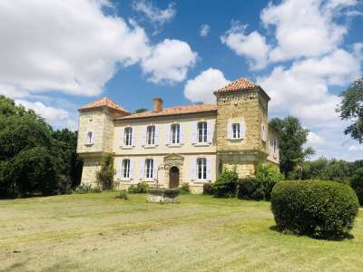 7 bedroom French chateau for sale, Mauvezin, Gers, Gascony