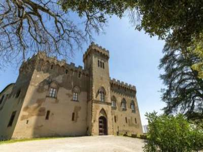 19 bedroom castle for sale with 940,000m2 land in Chianti, Florence,Italy