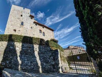 7 bedroom castle for sale with land in Gaiole in Chianti, Florence, Italy