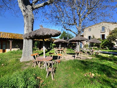 Restaurant for sale in a village in the Costa Brava countryside with farmhouse to restore and create a 16 bedroom hotel potentially.