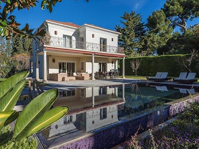 5 bedroom house for sale with 0.28 hectares of land, Cap d'Antibes, Antibes Juan les Pins, French Riviera