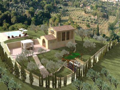 2 bedroom farmhouse for sale, San Gimignano, Siena, Chianti