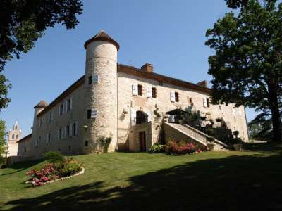 Image 2 | 8 bedroom French chateau for sale with 177,000m2 of land, Gers, Gers , Midi-Pyrenees 202561
