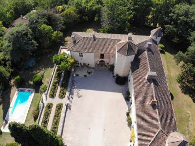 Image 3 | 8 bedroom French chateau for sale with 177,000m2 of land, Gers, Gers , Midi-Pyrenees 202561