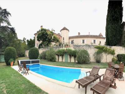 Image 9 | 8 bedroom French chateau for sale with 177,000m2 of land, Gers, Gers , Midi-Pyrenees 202561