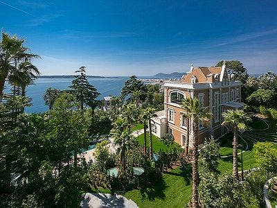 Image 2 | 9 bedroom French chateau for sale with 8,000m2 of land, Californie, Cannes, French Riviera 204160