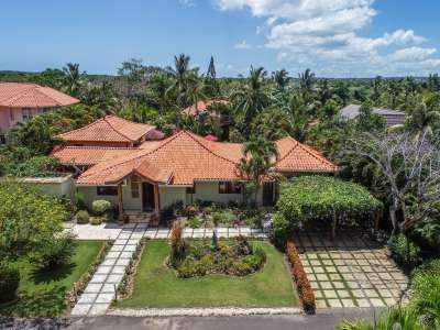 Image 2 | Beautiful Villa at Sea Horse Ranch, Dominican Republic for Sale with Pool and Guest/Staff Cottage 208779
