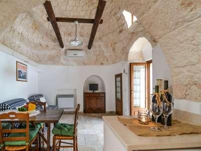 Image 10   Large Trulli Complex for Sale with Pool, close to Locorotondo in Puglia. Italy 209395