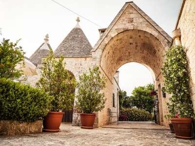 Image 2   Large Trulli Complex for Sale with Pool, close to Locorotondo in Puglia. Italy 209395