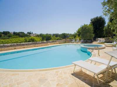 Image 25   Large Trulli Complex for Sale with Pool, close to Locorotondo in Puglia. Italy 209395