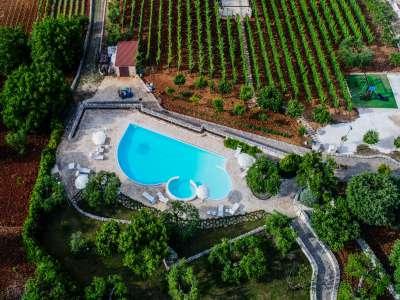 Image 28   Large Trulli Complex for Sale with Pool, close to Locorotondo in Puglia. Italy 209395
