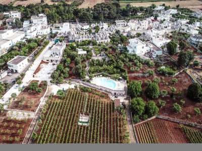 Image 31   Large Trulli Complex for Sale with Pool, close to Locorotondo in Puglia. Italy 209395