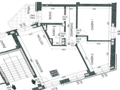 Image 3 | 2 bedroom apartment for sale, Ponteranica, Bergamo, Lombardy 212681